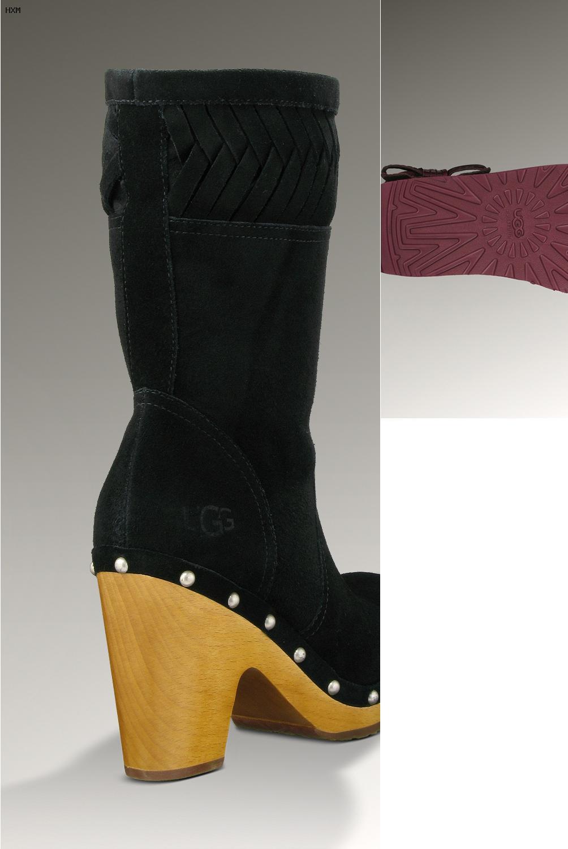 botas tipo ugg para mujer