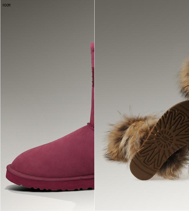botas ugg lazos el corte ingles