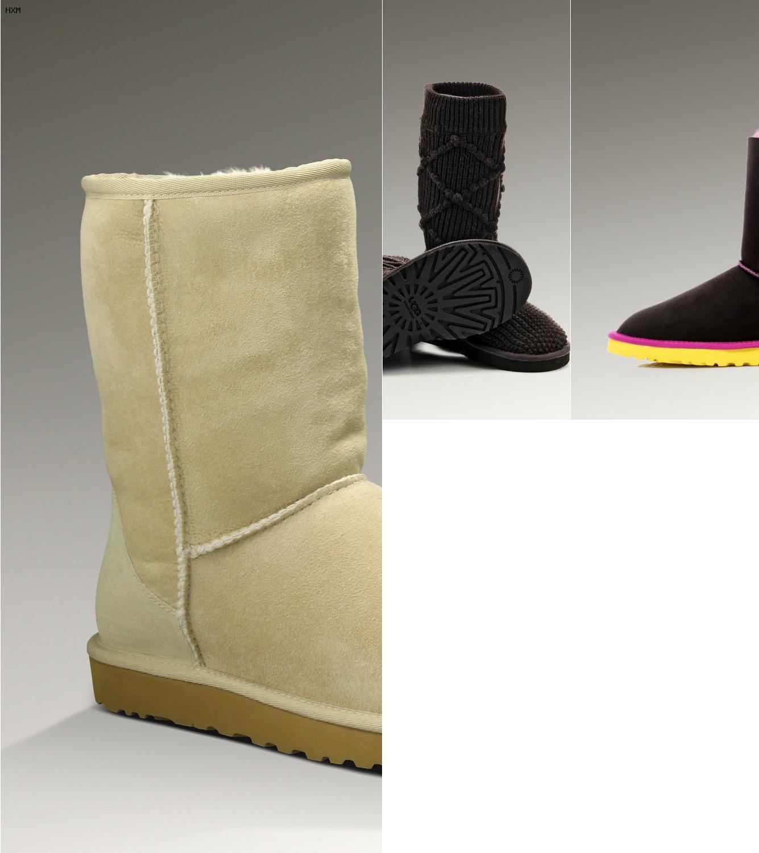 sirven las botas ugg para la nieve